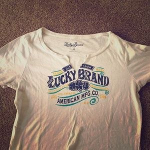 Lucky Brand cotton T-Shirt size M